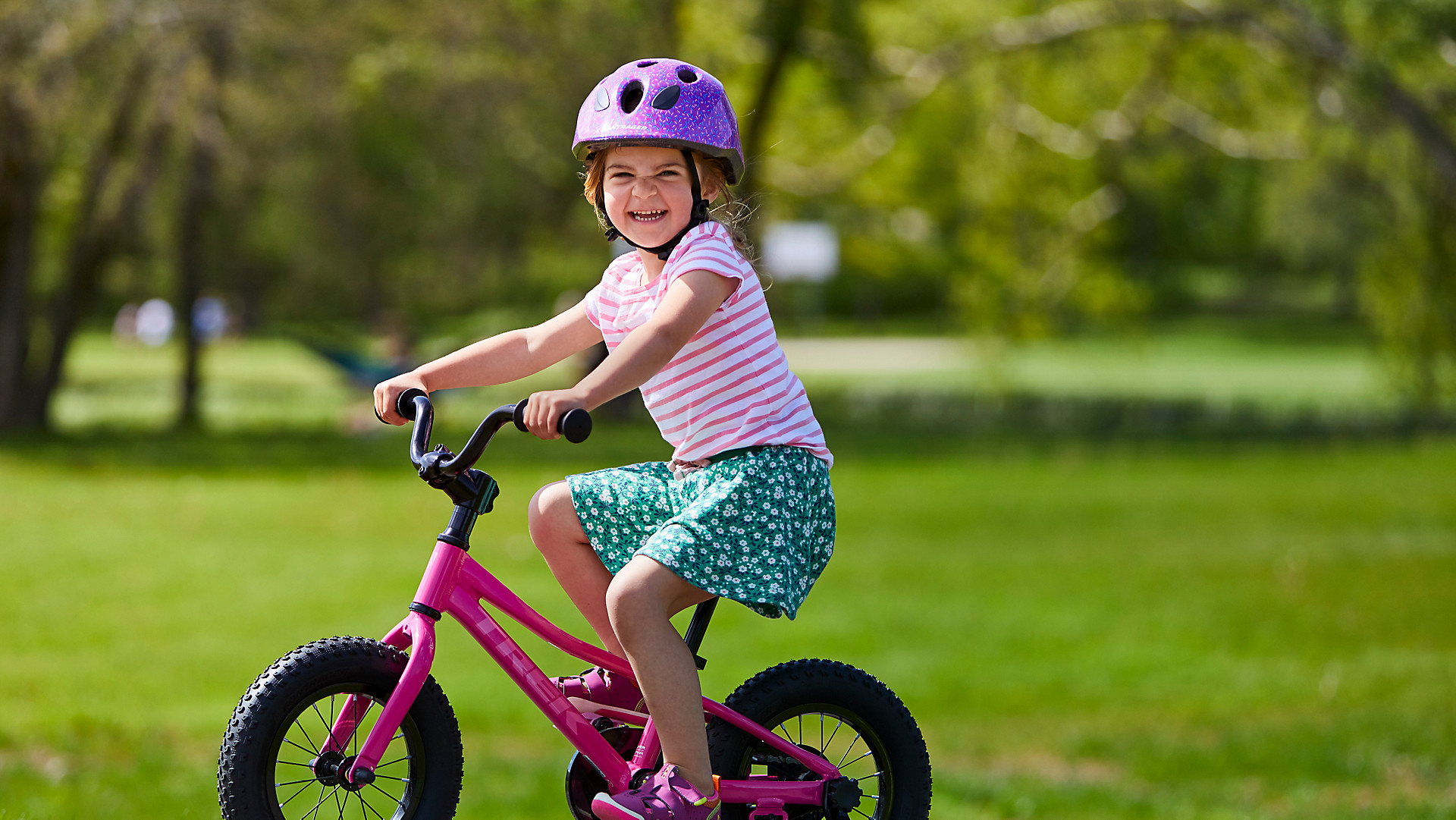 bike lessons for the little ones