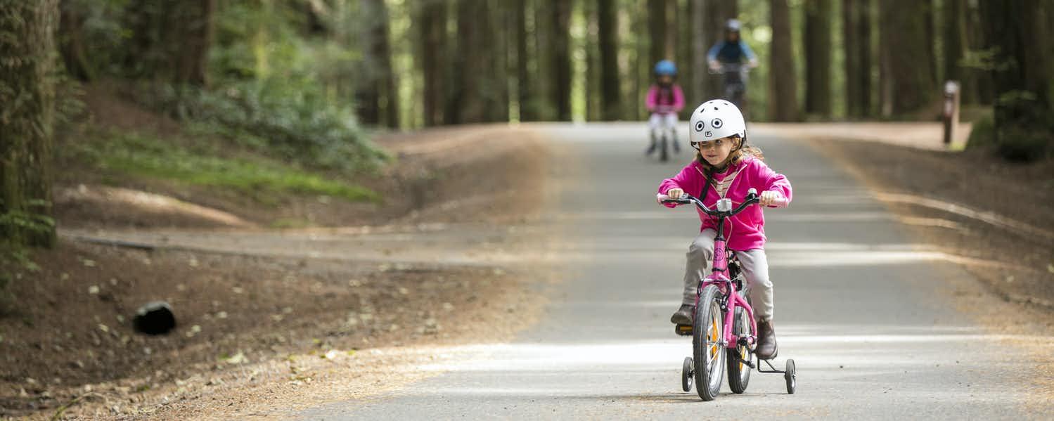 teach little ones biking