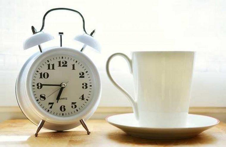 drink coffee tea morning