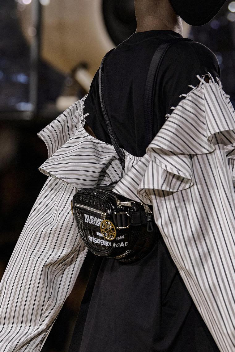 Burberry fashion trend backpack 2020