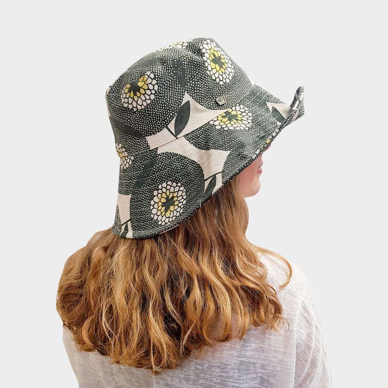 printed bell hat
