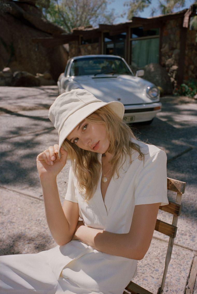 modern hat for summer