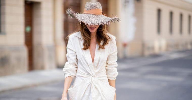 stylish summer deisgn straw hats