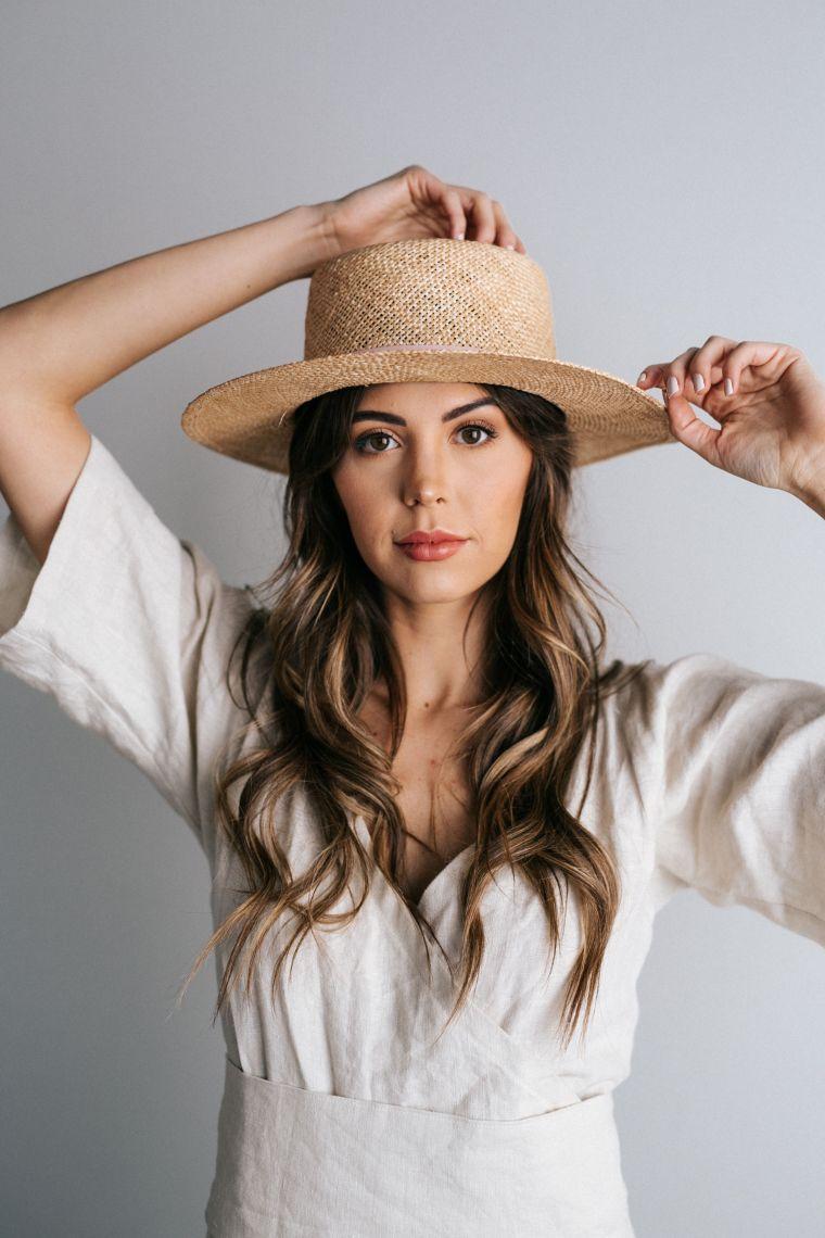 summer idea straw hats