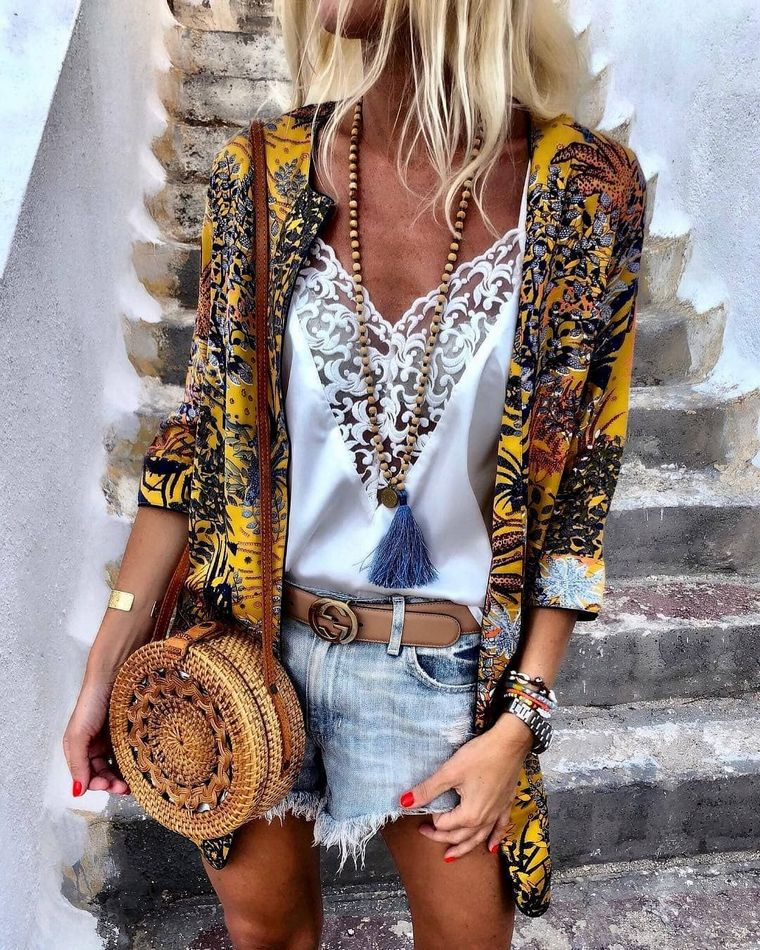hippie chic colorful modern