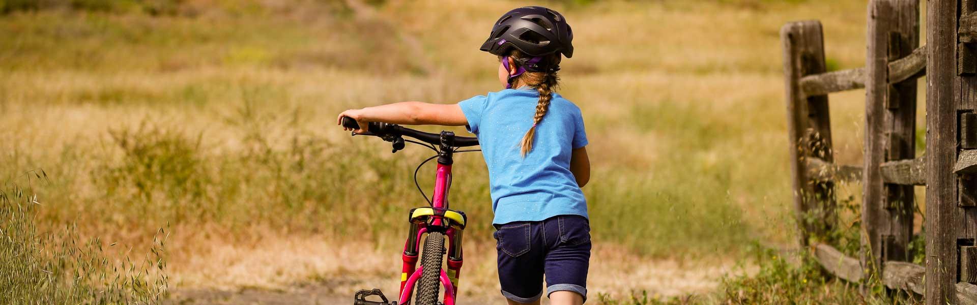 teach daughter or son biking