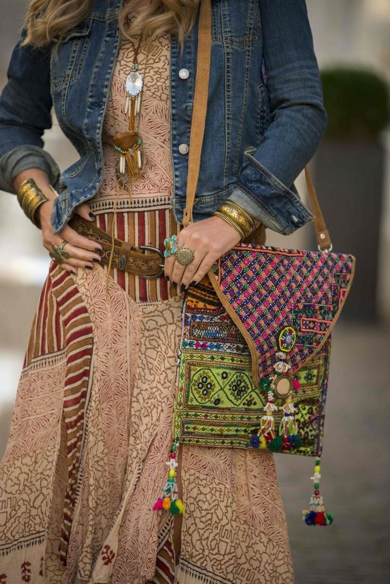 colors boho style accessories