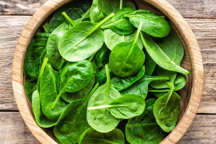spinach immune system diet