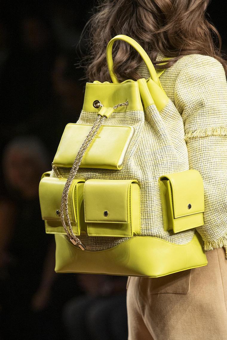 designer backpack crossed