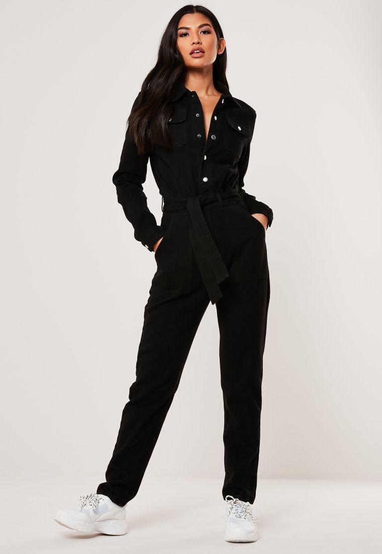 idea for a jumpsuit in black