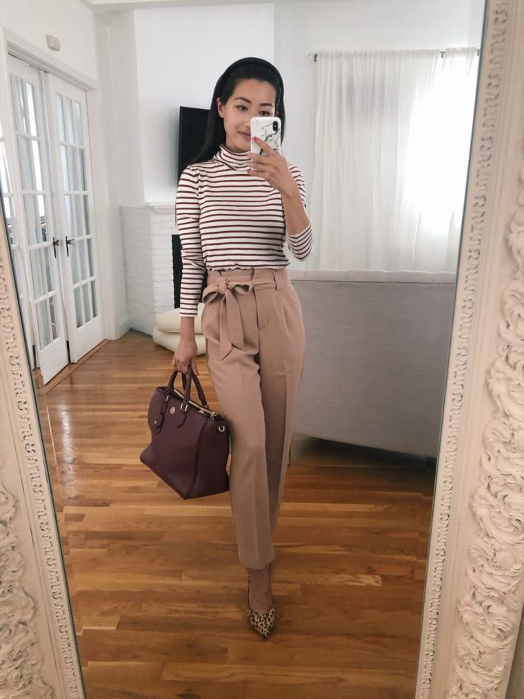 outfit idea in neutral colors