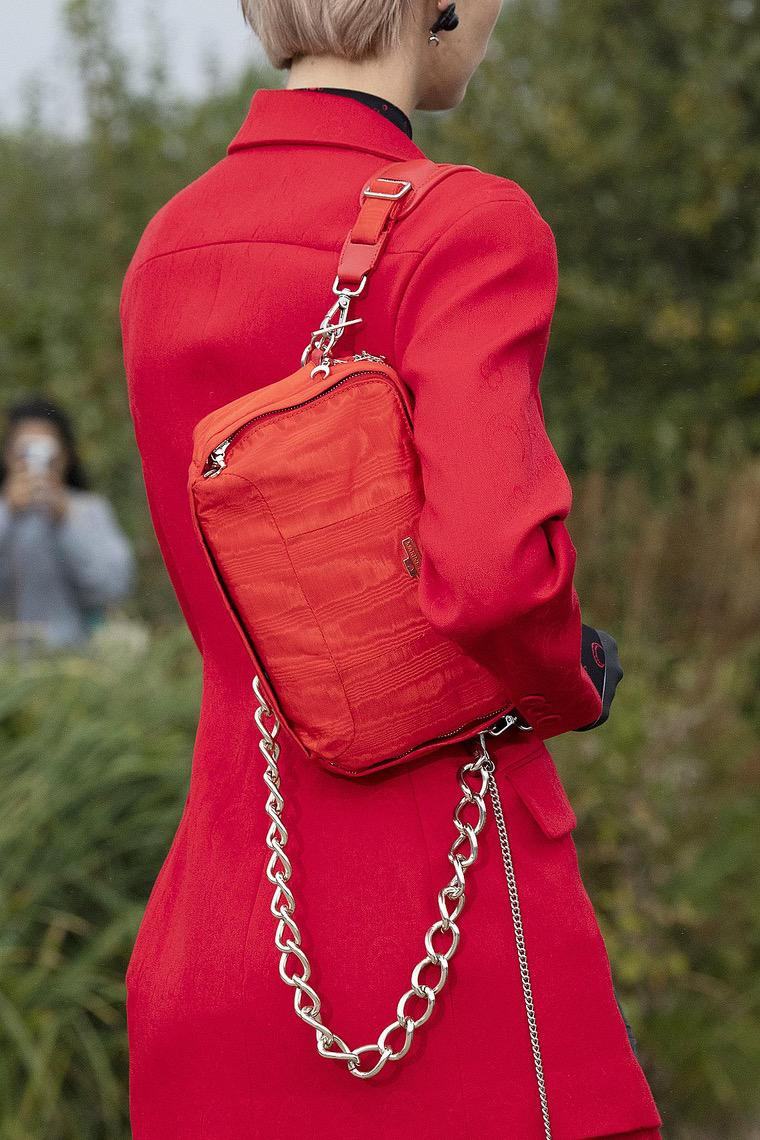 Marine Serre: designer bag