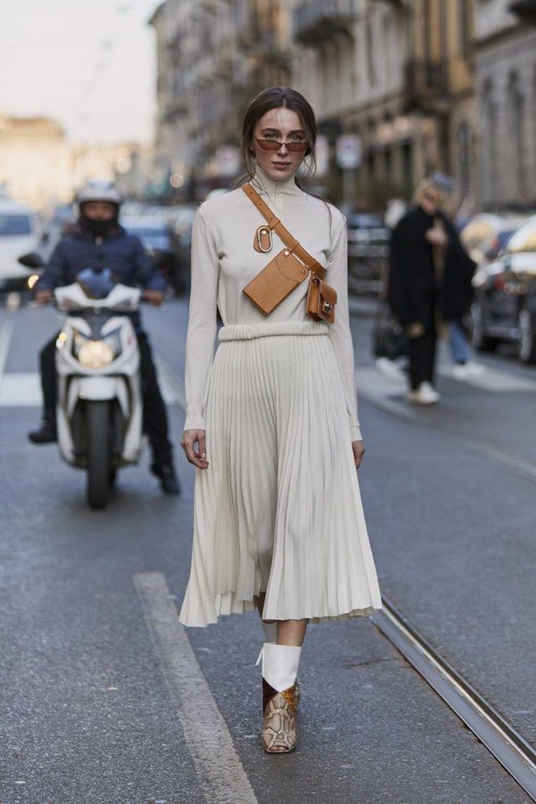 pantalon large femme tenue