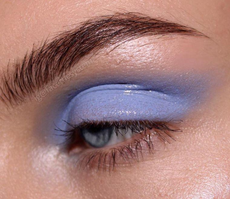 blue palm shadows