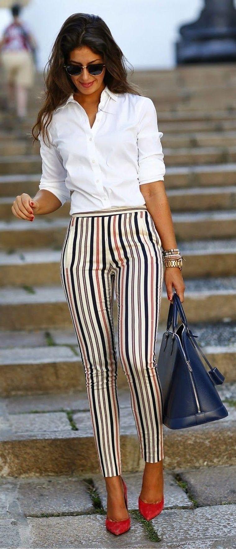 modern cigarette pants