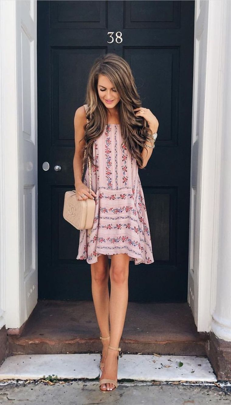 floral dress for summer