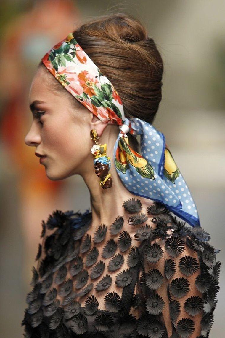 modern head ribbon
