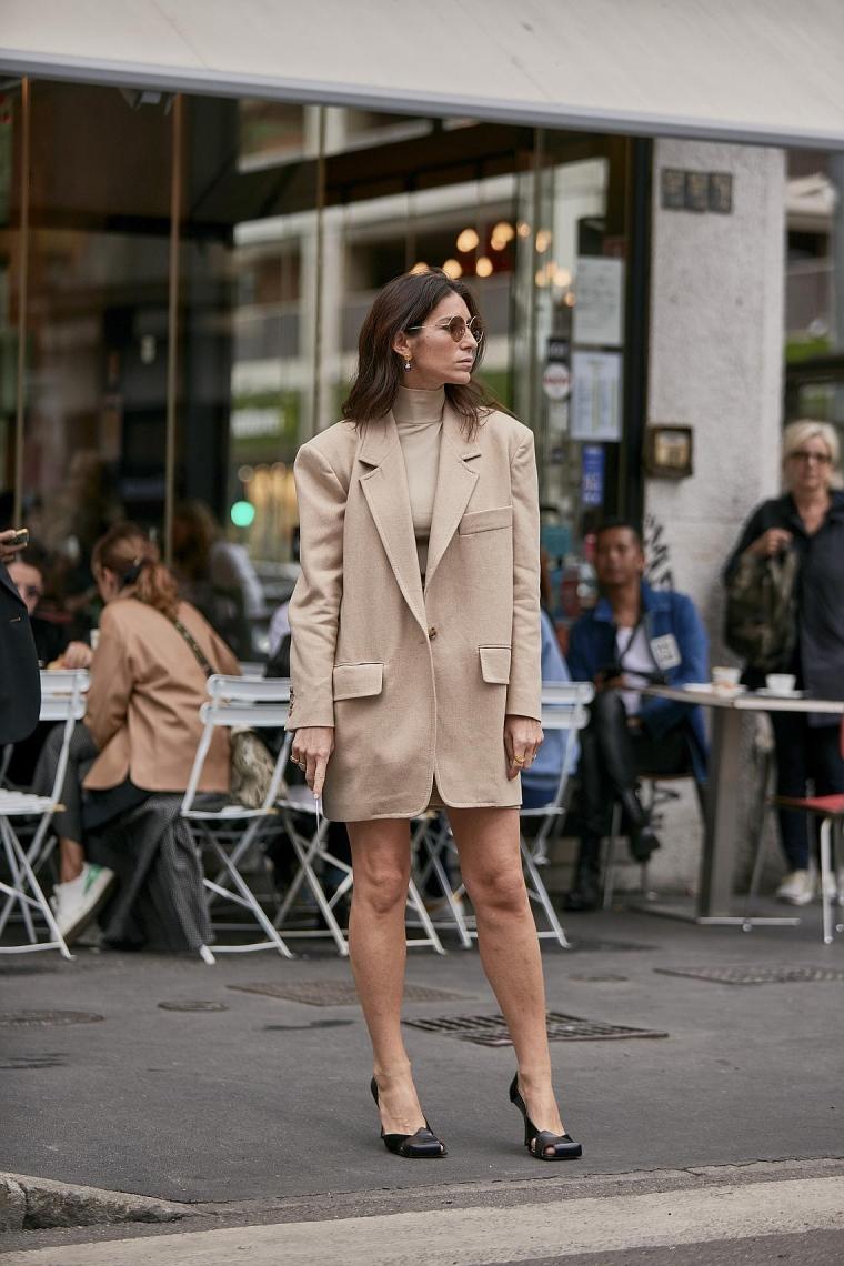 dans les rues de Milan