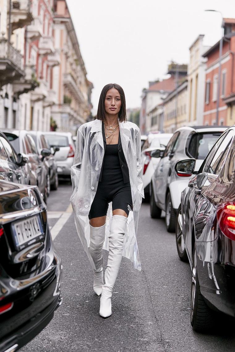 femme tenue mode style Milan