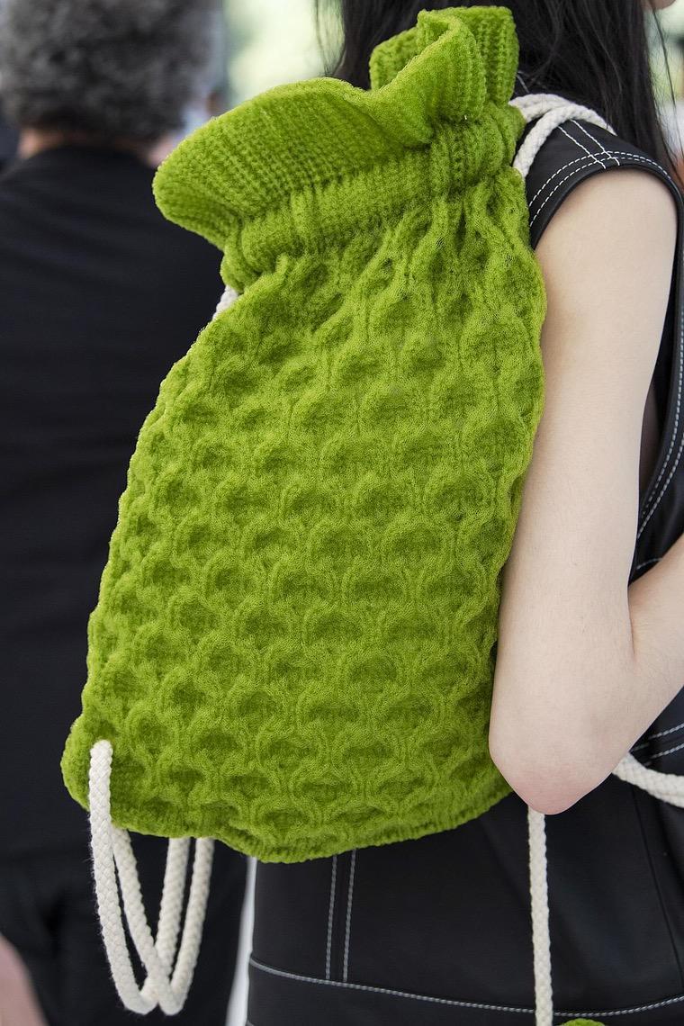Sunnei fashion design bag 2020