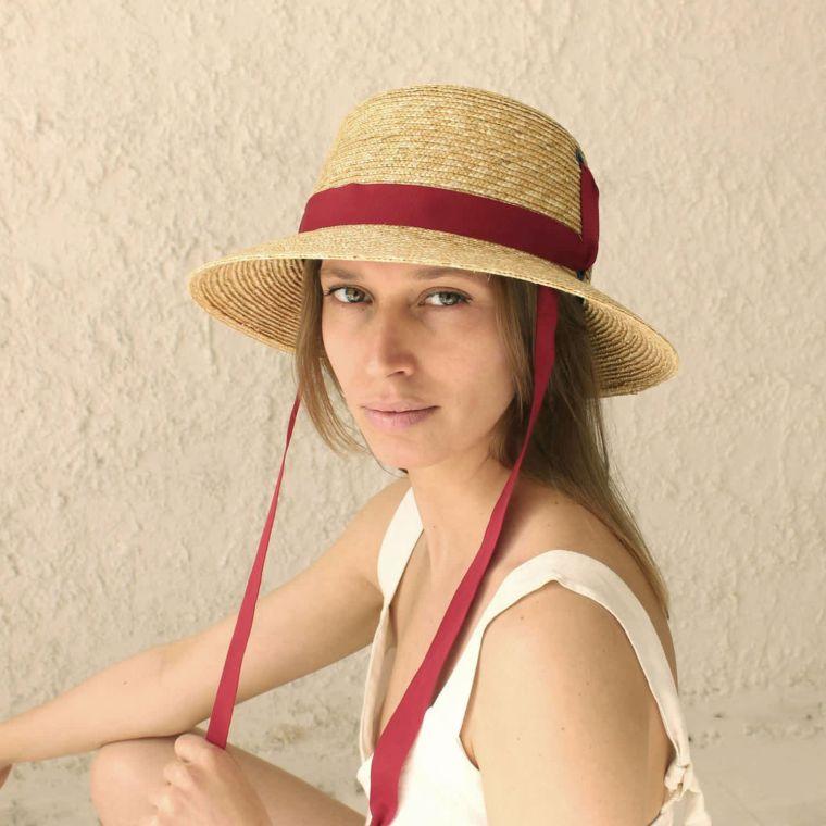 modern trendy hat for summer