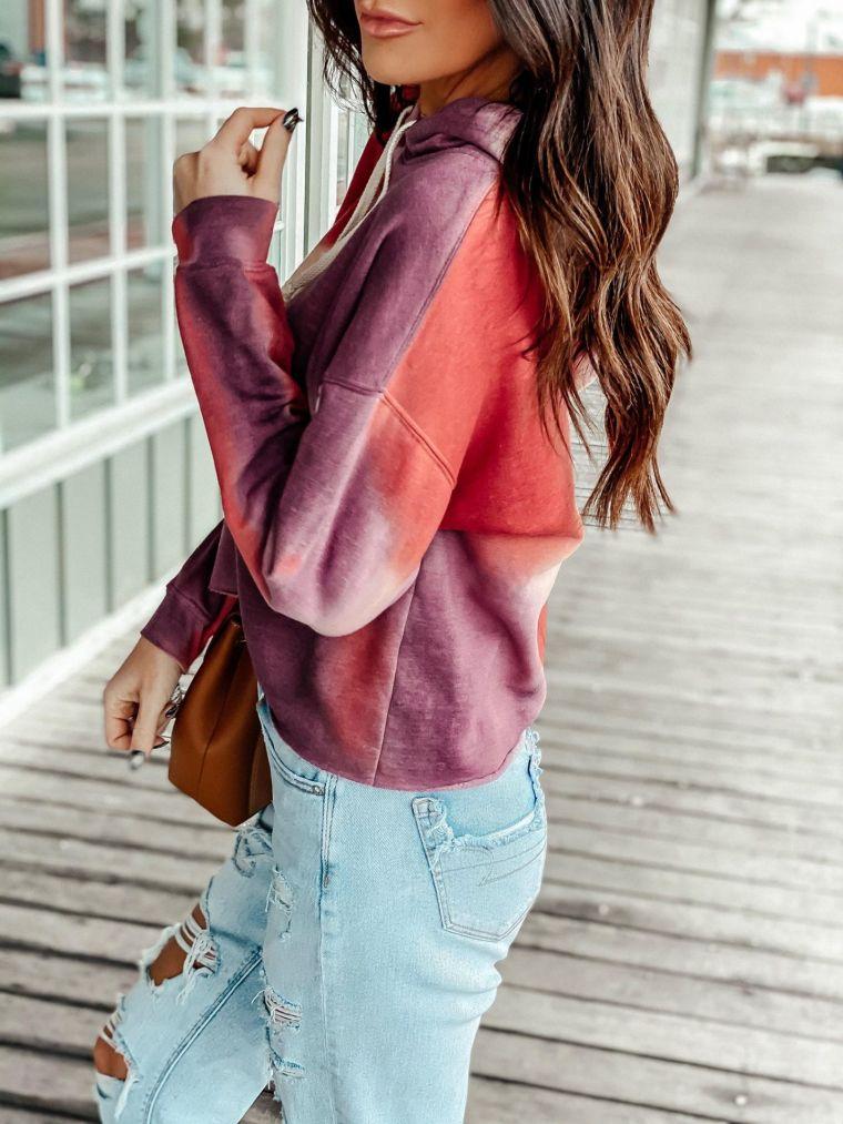 trendy tie dye