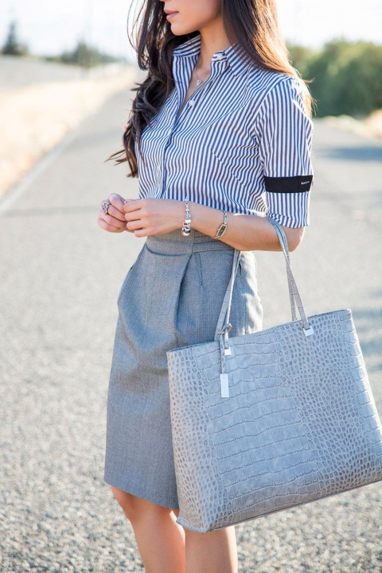 elegant office outfit