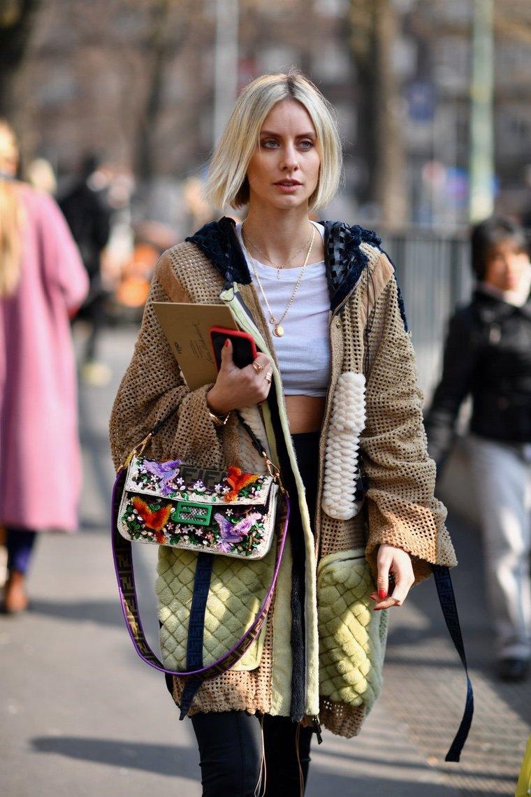 veste femme top court mode fashion milan