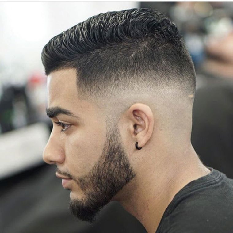 trendy buzz hairstyle