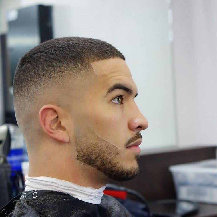 men's haircut and hairstyle