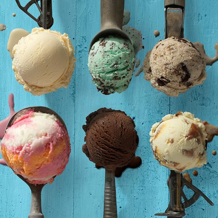 eat ice cream that happens in the body
