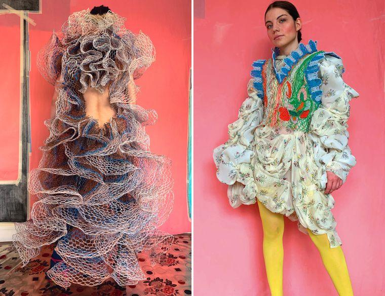 original recycling dress