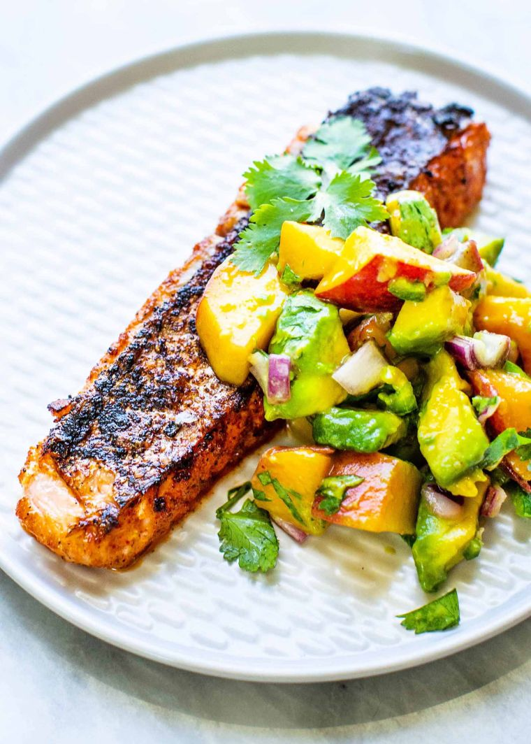 idea for grilled salmon