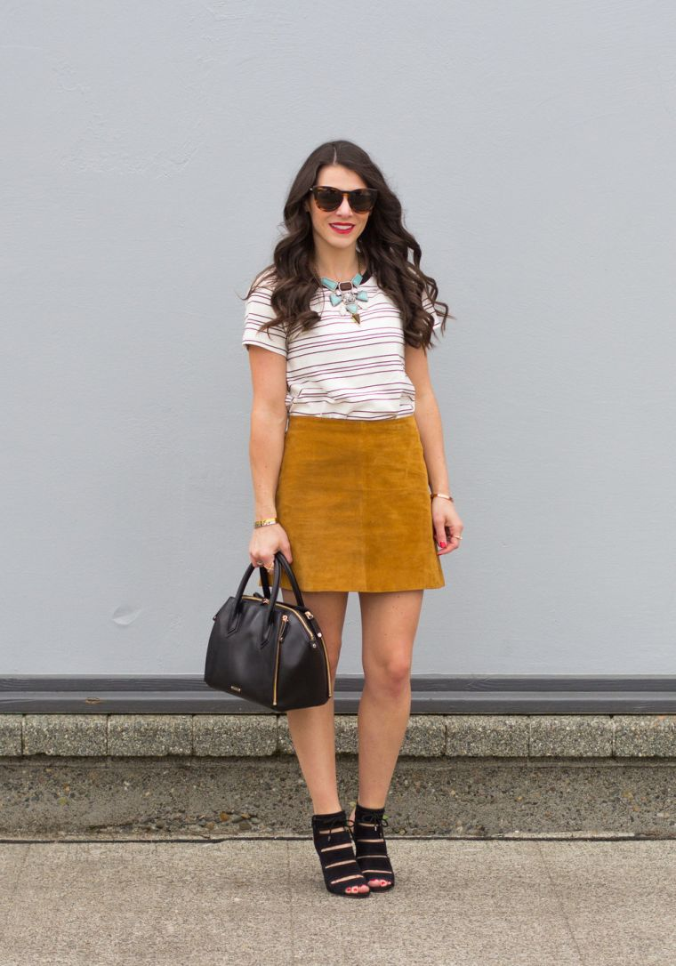 woman summer clothes with skirt