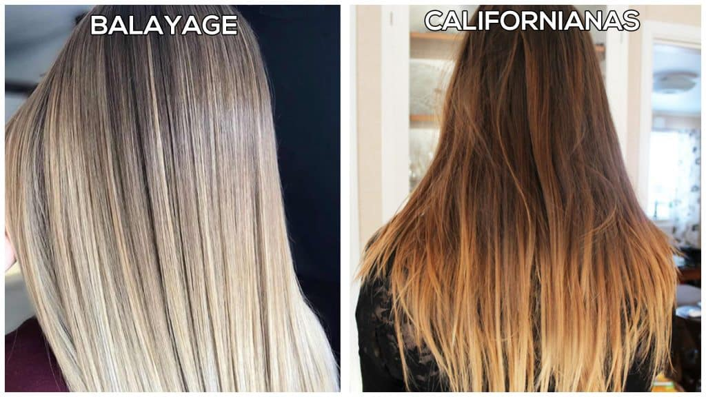 balayage vs californian