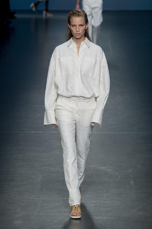 boss white shirt