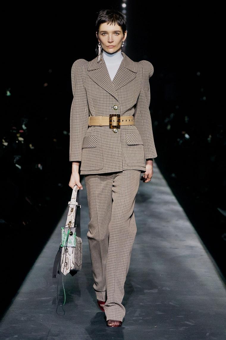 autumn fashion woman suit