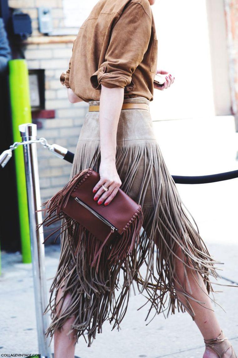 modern skirt for fall