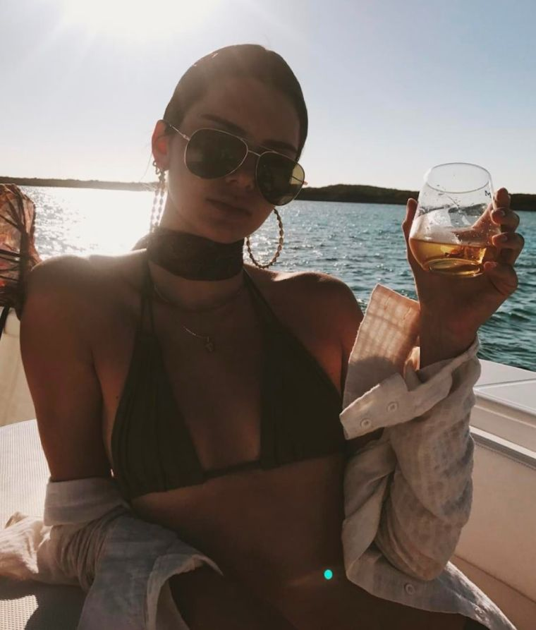 kendall jenner well being