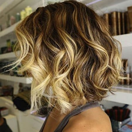mechas balayage cabello corto