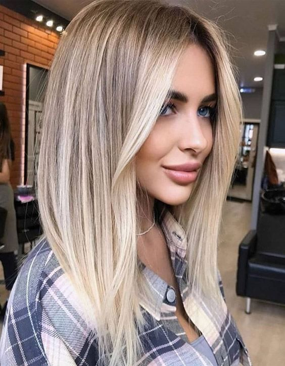 beige highlights on blonde hair