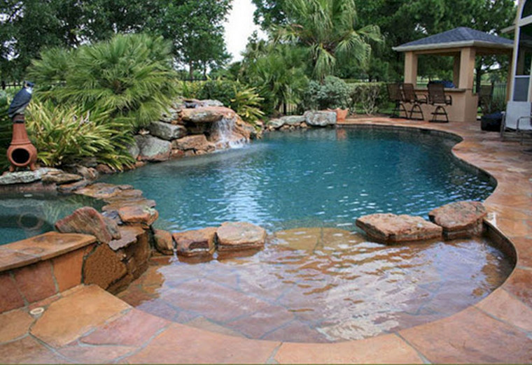 hybrid artificial natural pool