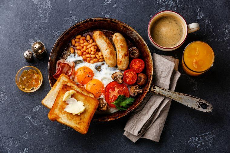 hangover cure - breakfast