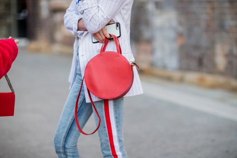 modern round bag