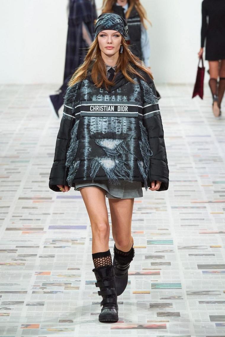 woman fall winter fashion trend