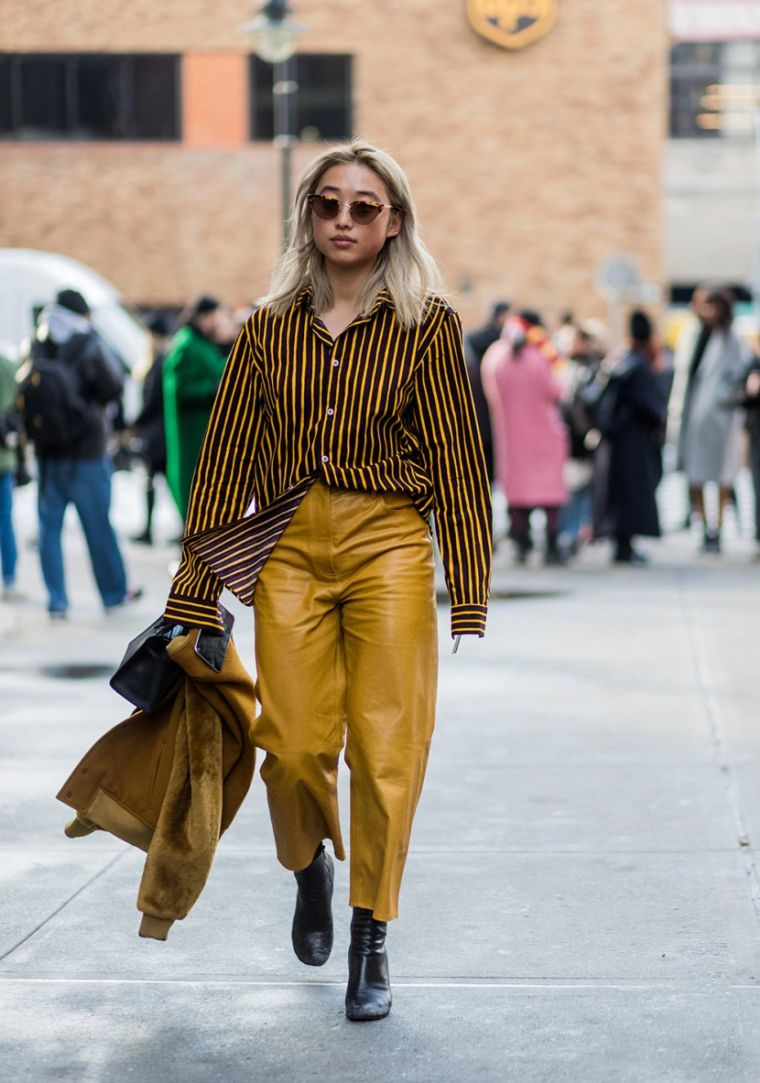 autumn 2020 trends in monochromatic style