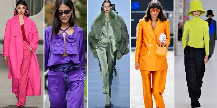 fall fashion trends 2020 with colors