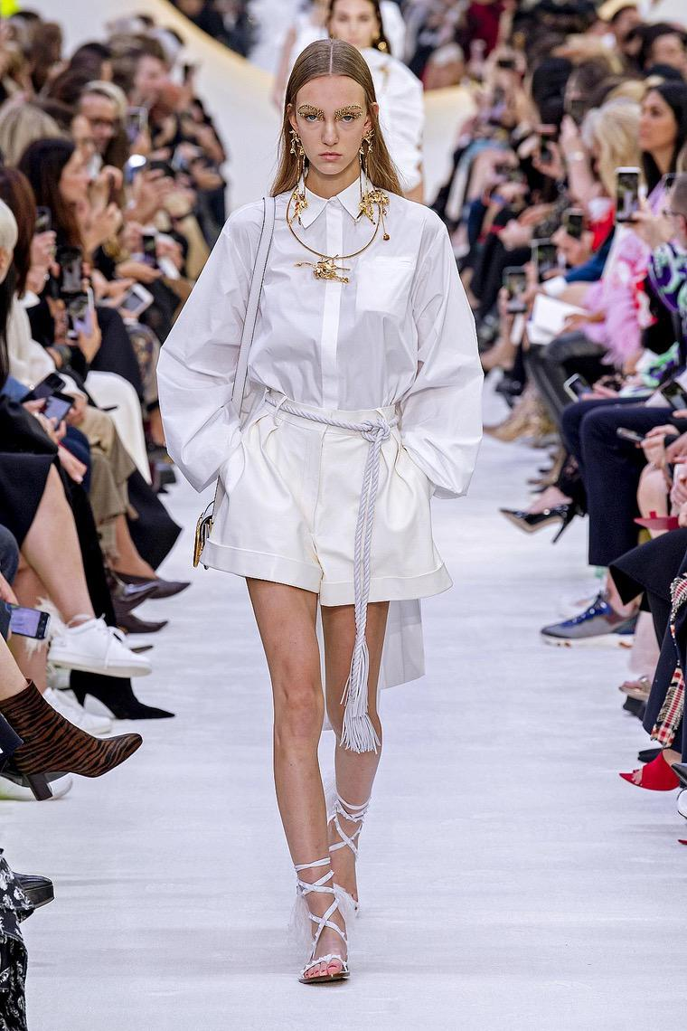 Valentino 2020 white shirt
