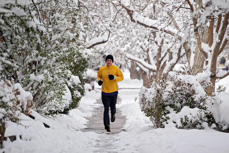 jogging outside when sick