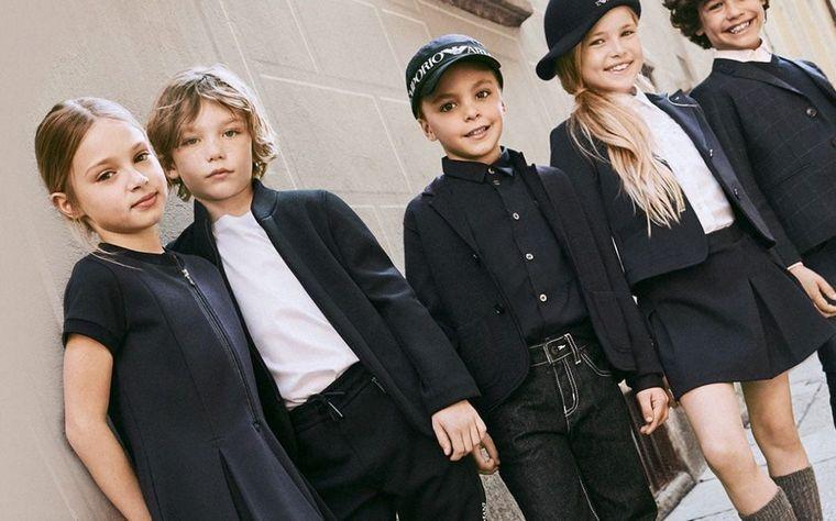 kenzo children's fashion classic look